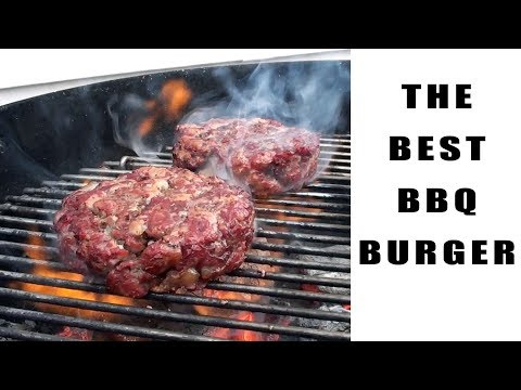 The Best BBQ Burger Recipe - Preparation And Cooking Instructions - BBQFOOD4U