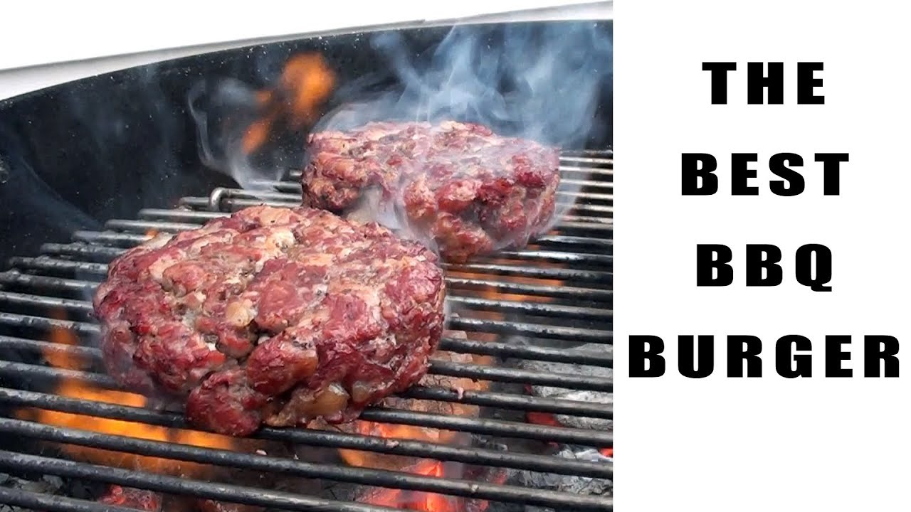 The Best Bbq Burger Recipe Preparation And Cooking Instructions Bbqfood4u