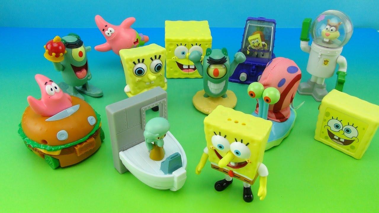 Spongebob Squarepants Movie Toys Burger King 2004 Kids Meal