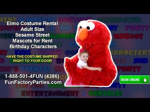 elmo Rent costume adult