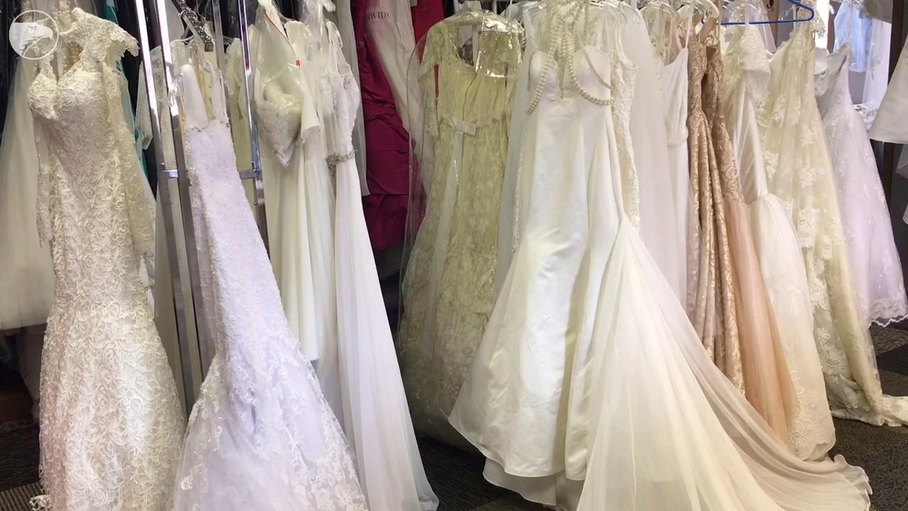 Derby designer debuts bridal line - YouTube