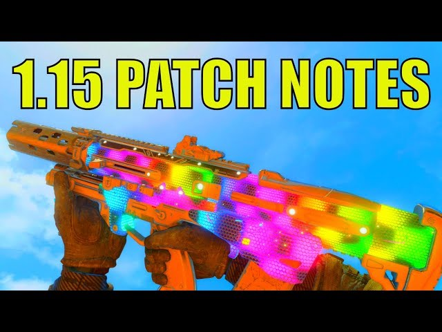 patch note bo4 1.08 fr