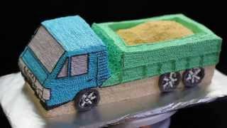 торт машинка Камаз | торт на заказ