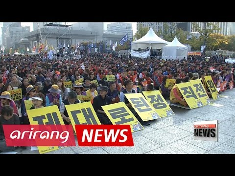 Citizens gather to commemorate candlelight rallies that redefined Korea's democracy