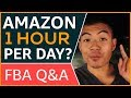 "Amazon FBA Q&A ""how much time is needed?"" 