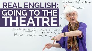 Learn English Vocabulary: Going to the theatre