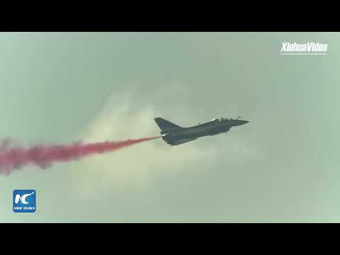 LIVE: Airshow China opens in Zhuhai with stunning aerobatic displays