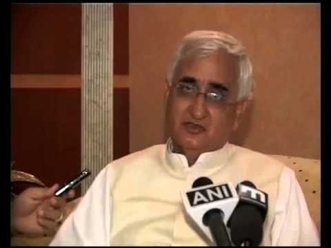 External Affairs Minister Salman Khurshid arrives in Riyadh