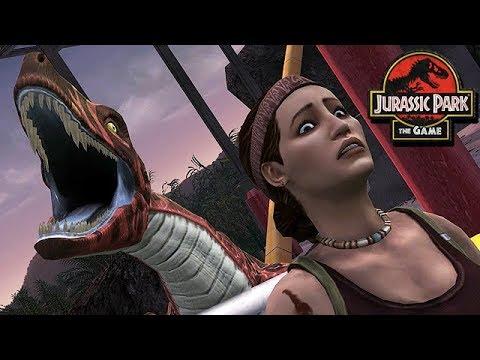 Jurassic Park The Game Gameplay German #05 - Der Horror Park
