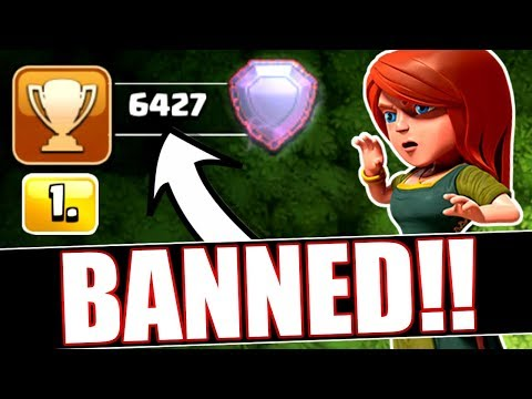 SUPERCELL BANNED #1 PLAYER IN THE WORLD!! - Clash Of Clans
