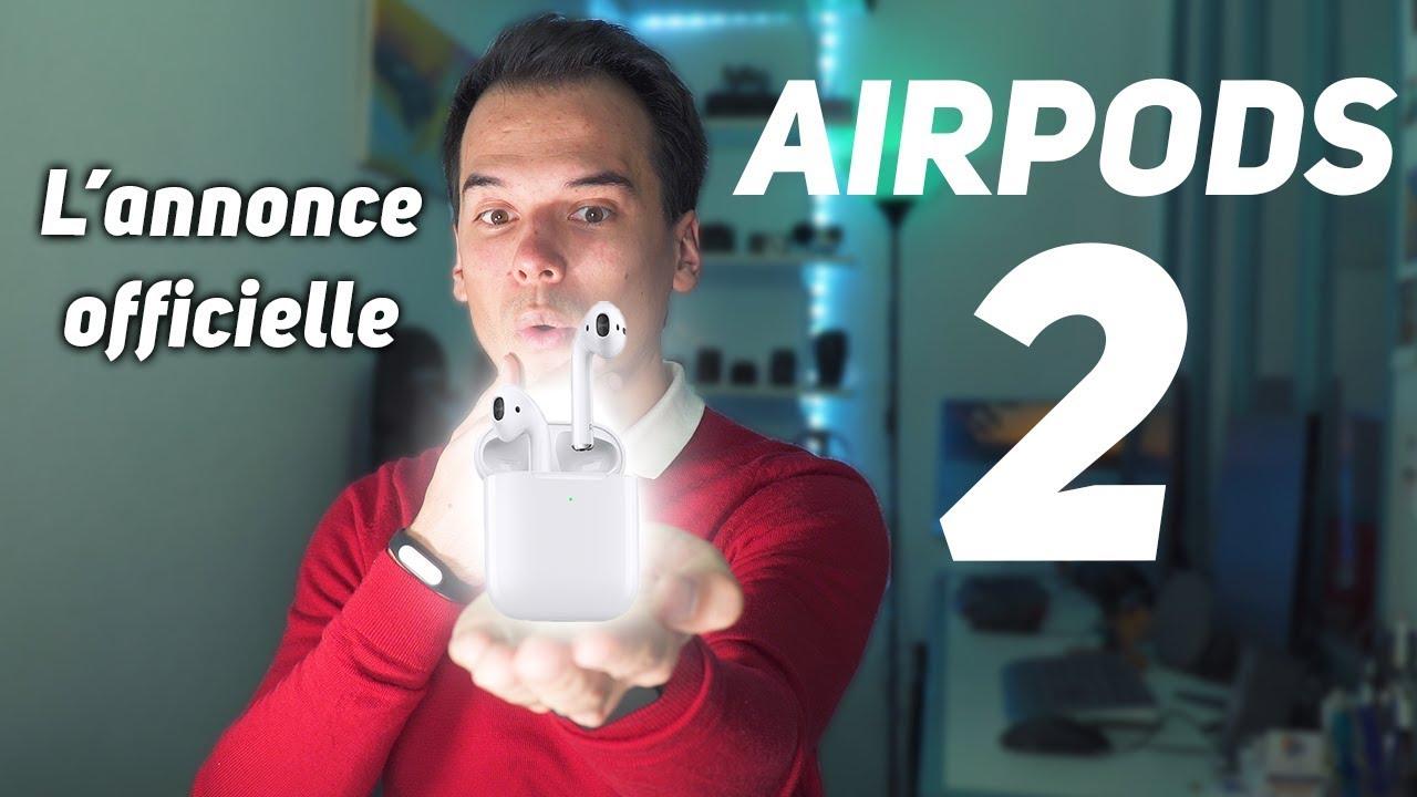 AIRPODS 2 - Toutes les nouveautés ! C'est