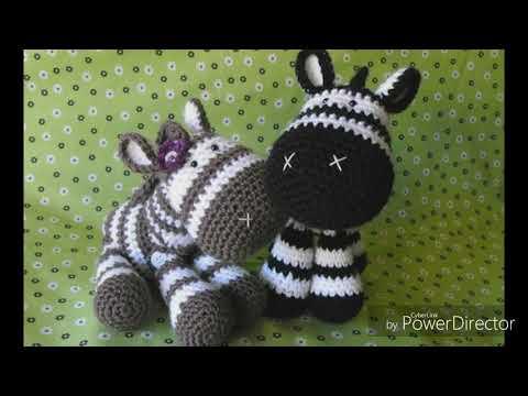 Zebra Poll em Amigurumi com Simoni Figueiredo (Receita Gratuita ... | 360x480
