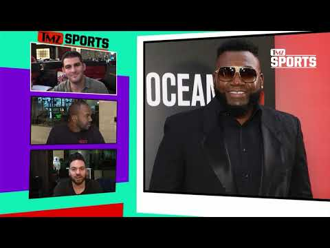 David Ortiz Drops the F-Bomb When He Learns Red Sox Score | TMZ Sports