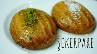best Turkish dessert sekerpare recipe