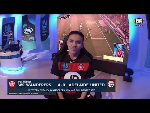 E-League 2018 PS4 Round 9: Western Sydney Wanderers v Adelaide United Highlights