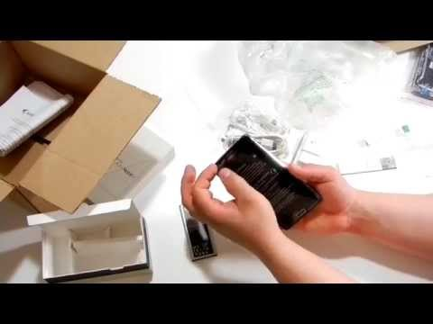Sprint Galaxy Note 4 Unboxing