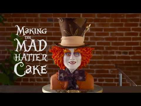 Realistic Mad Hatter Cake Timelapse | Oh My Disney
