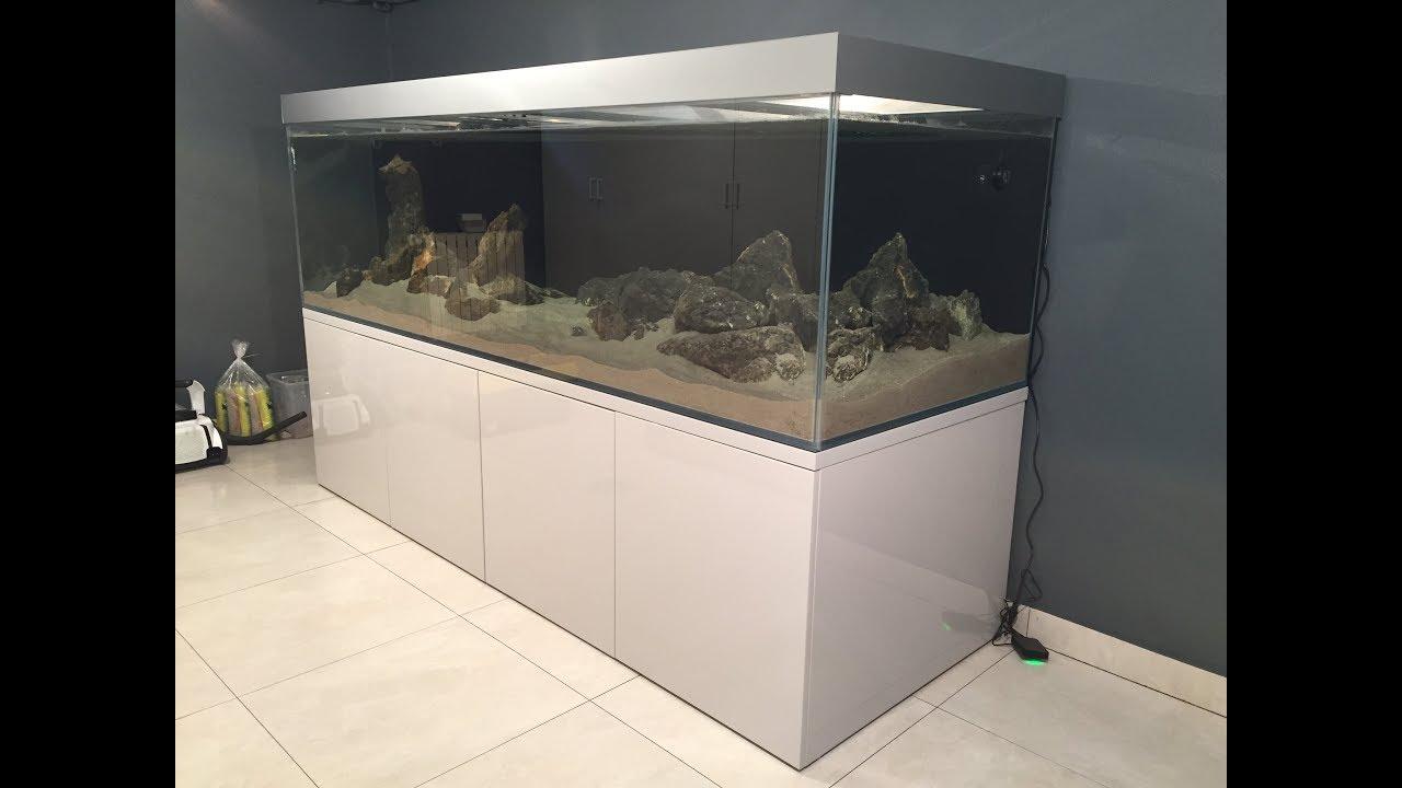Akwarium 1575 L Tanganika Z Sumpem Filtracyjnym Start Argus