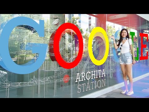 พาทัวร์บริษัท google กินฟรี ทำผมฟรี ทำเล็บฟรี มีบาร์ลับในออฟฟิศ 😱 | Archita Lifestyle