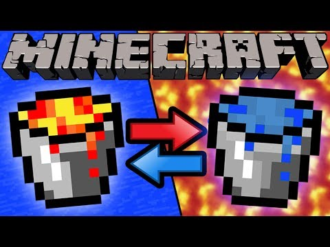 Thumbnail: If Lava and Water Switched Places - Minecraft