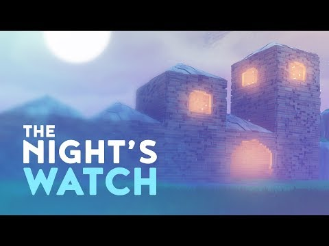 THE NIGHT'S WATCH - FORTRESS BUILD! (Fortnite Battle Royale)