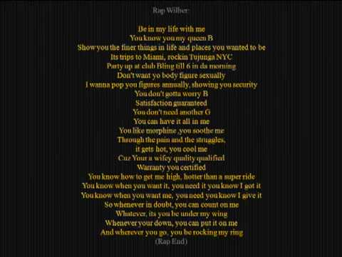 Akon ft wilber pan Be with you Lyric - YouTube