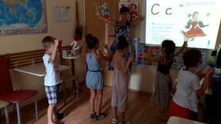Урок английского у детей 5-6 лет в English Room Алушта