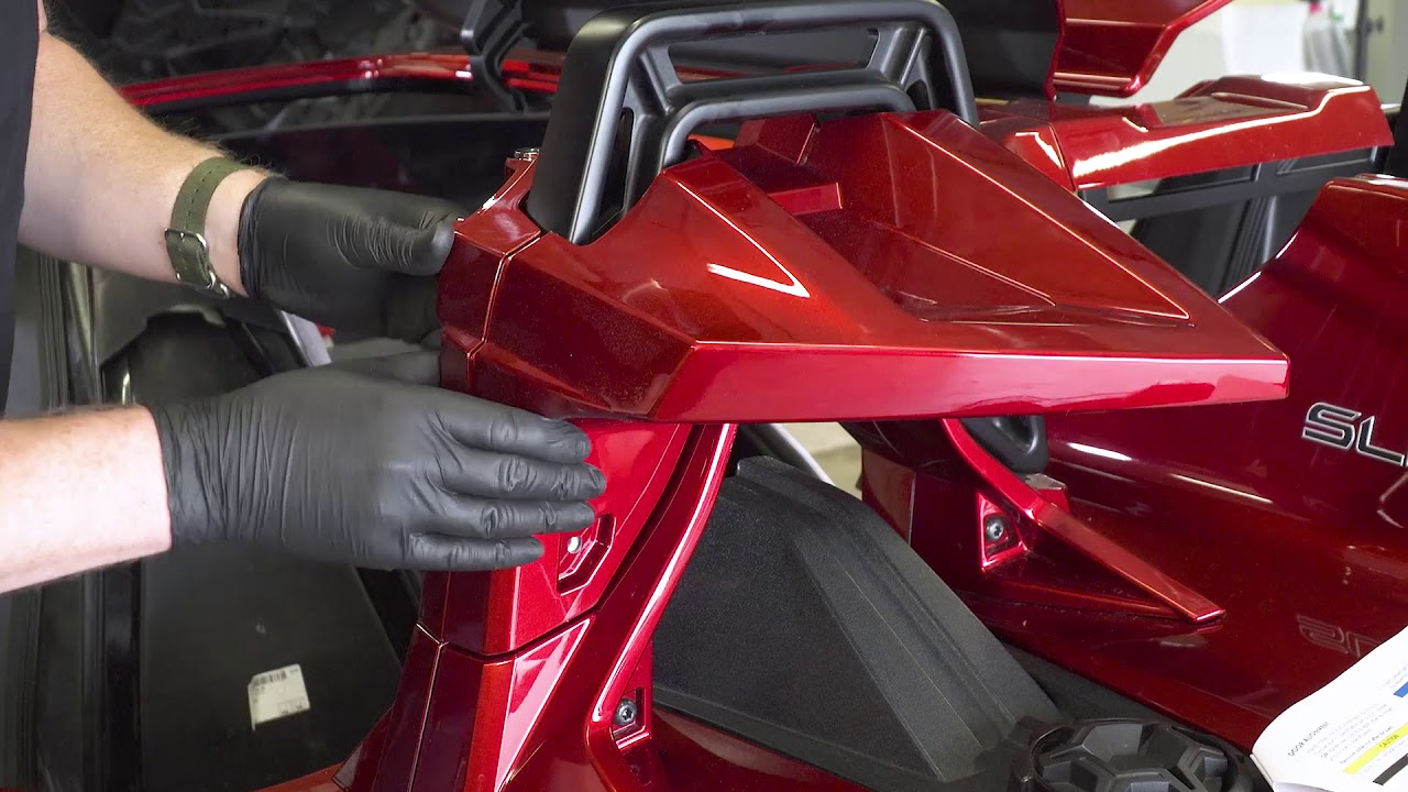 upgrading a 2017 polaris slingshot sl with a slingshade roof - Polaris Slingshot Roof