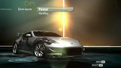 Need For Speed Undercover  Customization 370Z