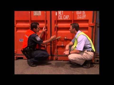 Air Sea America - Seal and Container Door Inspection - US CBP