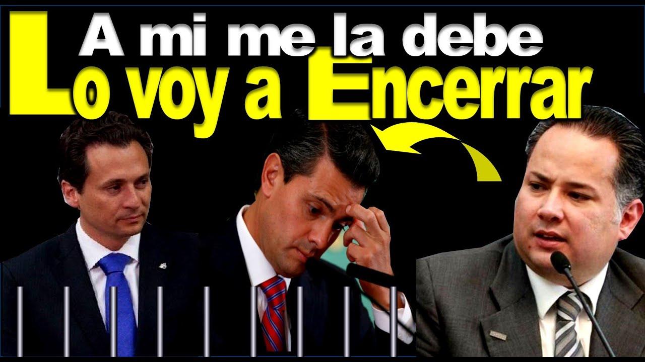 Lozoya será pieza importante para encerrar a Peña: Santiago Nieto
