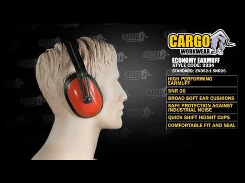 3334 Cargo Economy Earmuff