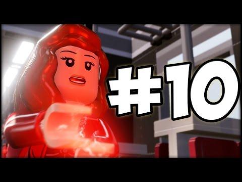 LEGO MARVEL'S AVENGERS - Part 10 - Captain America vs. Ultron!