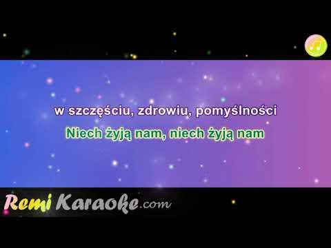 Biesiadna - Toasty Weselne (karaoke - RemiKaraoke.com)