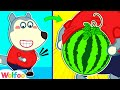 Oh No, Wolfoo Sneaks Watermelon Into His Belly - Learn Healthy Habits for Kids | Wolfoo Channel