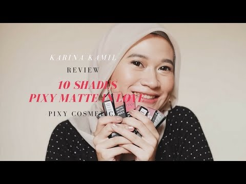 pixy-matte-in-love-lipstick-swatches-&-review-|-karina-kamil