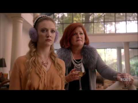 Scream Queens 1x10 - Chanel #3 goes to spend Thanksgiving with her family