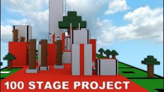 Stages 74 - 78 HD Gameplay | ROBLOX 100 Stage Project