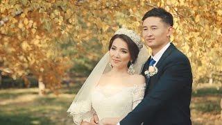 Свадебное видео в Алматы. Свадебный фильм. Алибек и Салтанат. 25 сентября