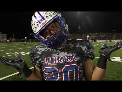 La Habra High School vs Fullerton High School Varsity Football