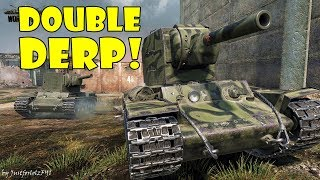 World of Tanks - PURE Gameplay [KV-2 PLATOON | 10 KILLS, 6500 DMG by Gilvaras & Valane]