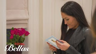 Nikki Bella finds a note and flowers from John Cena: Total Bellas Preview Clip, June 10, 2018