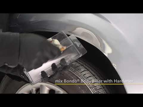 Bondo Rust Hole Repair Kit – Repair Rust Spots & Get Professional Results