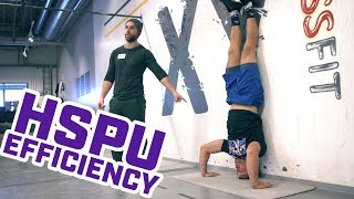 How to Make Your Handstand Push-Up More Efficient