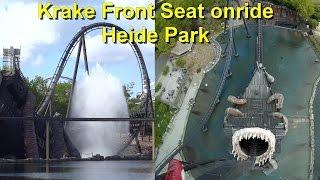 Krake Front Seat onride & OffRide 2016 HD POV - Heide Park Resort -  B&M Dive Coaster - Achterbahn(Krake Front Seat onride & OffRide 2016 HD POV - Heide Park Resort - B&M Dive Coaster - Achterbahn: Krake im Heide Park ist Deutschlands erster Dive ..., 2016-07-06T19:33:57.000Z)