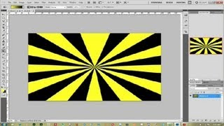 How to Draw Vector Sunrays in Photoshop : Photoshop Help