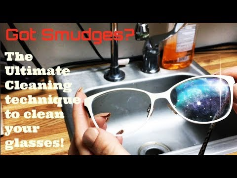 How to - The Best Way To Clean Your Dirty Glasses - No Scratch!