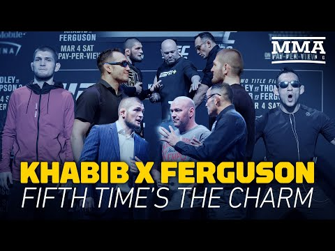 UFC 249 Timeline: Khabib Nurmagomedov Vs. Tony Ferguson - MMA Fighting