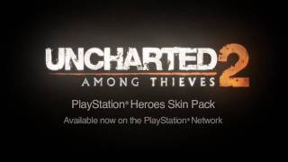 UNCHARTED 2: Among Thieves - PlayStation Heroes Skin Pack DLC Trailer (Official HD)