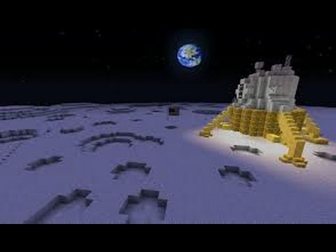 Go To The Moon! A Minecraft Human TNT Launcher Tutorial Xbox 360
